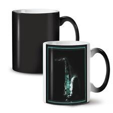 Saxophone Image NEW Colour Changing Tea Coffee Mug 11 oz | Wellcoda