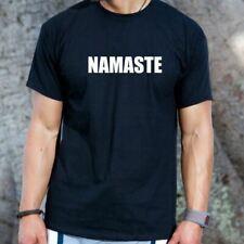 Namaste T-shirt Funny Yoga Om Mediation Hindu Sanskrit Tee Shirt