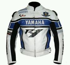 Yamaha Moto Giacca in pelle bovina di giacca sportiva Moto da corsa di pelle IT