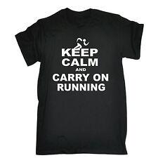 Keep Calm y llevar en el funcionamiento T-Shirt Tee oficial Ejecutar Capacitación Regalo De Cumpleaños