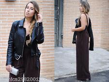 Zara Estampado Terciopelo Mono De Pierna Ancha Talla Mediana Bloggers! Ref.5580