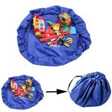 Portable Kids Children Baby Play Mat Toys Storage Bag Lego Rug Organizer Pouch