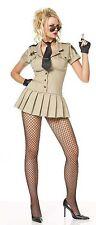 Women's Sheriff Costume, Leg Avenue 83113, Adult 4 Piece, Size S, M, L, XL