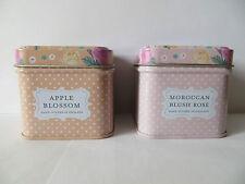 Bougie parfumée Vintage Floral - Fleur de pomme ou Rose marocaine
