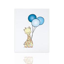 Quadro moderno per bambini  Giraffa - ideale per la cameretta nascita