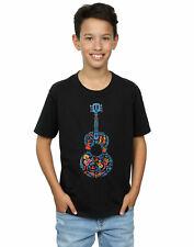 Disney niños Coco Guitar Pattern Camiseta
