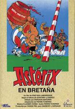 Asterix cartoon poster print Asterix chez les Bretons