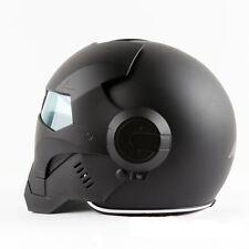 DOT Black Iron Masei 610 Motorbike Capacete Casco Helmet Motorcycle Man Helmets