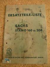 Ersatzteilkatalog Sachs Stamo 160/200