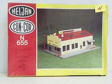"HELJAN/CON-COR N SCALE U/A ""WEEKLY HERALD NEWSPAPER"" PLASTIC MODEL KIT #655"