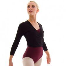 Roch Valley Nikki  Tie cross - over cotton ballet / dance cardigan