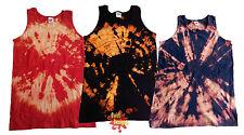 Acido TIE Dye t shirt unisex MANO TIE Tinti FOTL T SHIRT CANOTTA tutte le taglie