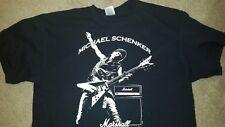 MICHAEL SCHENKER T-SHIRT rare find marshall amp msg ufo jvm jcm dsl