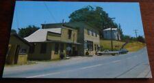 Vintage Postcard Olema Calif Post Office Highway 1 Marin Co