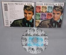 CD ELVIS PRESLEY Live IMPORT MINT