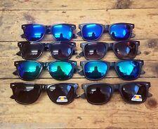Mens Ladies Sunglasses Shades Polarised Revo Lenses Matte Gloss Classic Retro