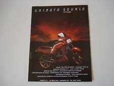 advertising Pubblicità 1984 UNIMOTO SQUALO 125 STRADALE