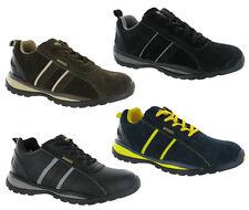 Grafters Ligero Formadores De Seguridad Puntera acero cap Hombre Zapatos trabajo
