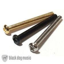 Guitar humbucker pickup screws chrome black or gold Bulk buy and save 4,10 or 50