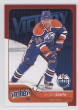 2011-12 Upper Deck Victory Red #74 Jordan Eberle Edmonton Oilers Hockey Card