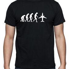 Evoluzione del JET PLANE Personalizzata T Shirt Ingegnere Aeronautico PILOTA T-shirt regalo Papà