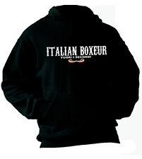 Felpa con cappuccio Sport hoodie KP05 Boxe Italian Boxeur Fuori i Secondi