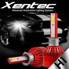 2 Pcs H1 388W 38800LM Car LED Headlight Bulbs Conversion COB kit 6500K White