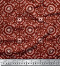 Soimoi Fabric Seamless Damask Print Fabric by the Meter-DK-565A