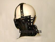 Leather Neck Corset Hals Korsett Head Harness Binder