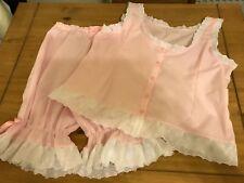 pyjama type  Short legged bloomers with matching camisole