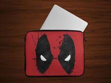 Deadpool Eyes Laptop Case Sleeve Tablet Bag Ultrabook Chromebook Gift