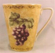Cortland Grape Coffee Mug Cheri Blum 222 Fifth PTS International NICE