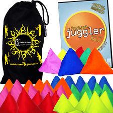 TRI-It Piramide giocoleria BEAN BAGS-Set di 5 + Instant giocoliere DVD + bag -