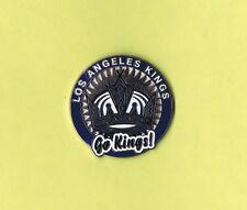 Los Angeles Kings NHL Poker Chip LOGO Hockey Lapel Hat Pin