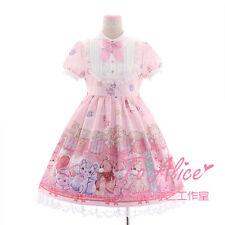 Claw Machine Toy Grabber Bears OP Lolita Dress Short Sleeve Fancy Dolly Dress