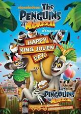 Penguins of Madagascar: Happy King Julie DVD