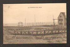 QUIBERON (56) TERRAINS DE TENNIS au CAMP DE VACANCES DE LA Cie P.O. en 1932