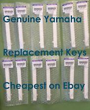 NEW Genuine Yamaha KEYS Clavinova CLP CVP Pianos replacement Key Notes *NO P&P*
