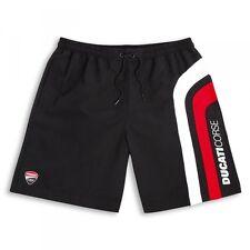 DUCATI CORSE Speed Badehose Badeshorts Shorts kurze Hose Swim Suit schwarz NEU