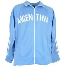 Argentina AFA Track Jacket Soccer Flag Futbol Football Zipper Sweater 10 Messi