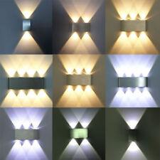 4W 6W 18W Design LED Wandlampe Wandlicht Innen Effektlampe Flurlampe Strahler DE