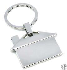 Metall-Schlüsselanhänger Haus im Geschenk-karton Wohnung