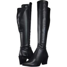 Nine West Women's Earta Black Fabric Dress Heel Boot