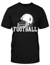 Football T-Shirt Fun Spruch Helm Sport Fan Hool Ultra Touchdown Game Amerika