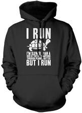 I Run - Funny Running Runer Unisex Hoodie