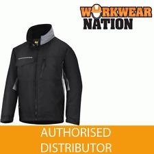 Snickers 1128 Craftsmen's Winter Work Coat Jacket, Water Resistant BLACK