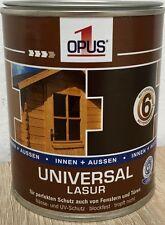 Opus1 Universal Lasur 8,68€/L 2,5 L Holzschutzlasur, Holzschutz Holz Lasur EF