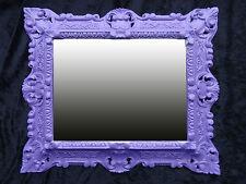 Púrpura 345 Espejo de pared Repro 45x38cm antigua Barroco Réplicas Rectangular