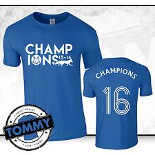 Leicester City Campeones Del Ventilador T-Shirt, Campeones LCFC zorros Limited Edition FH