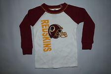 Washington Redskins KIDS Pajama Shirt ALL SIZES Football NFL Thermal Shirt WHITE
